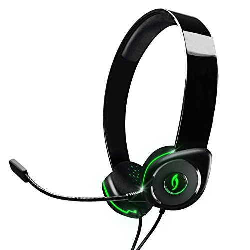 PDP Afterglow AGU.40 Universal Wired Headset - Green - Xbox 360