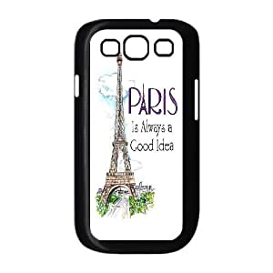 Chaap And High Quality Phone Case For Samsung Galaxy S3 -Eiffel Tower in Paris-LiShuangD Store Case 15