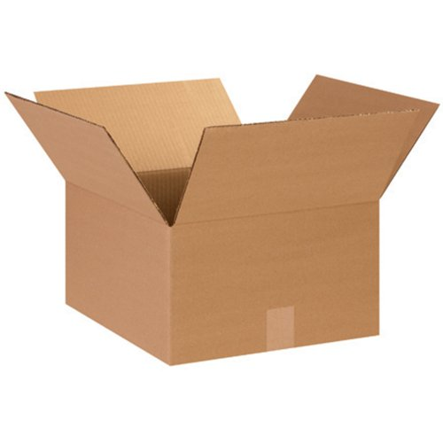 "Aviditi 14148 Corrugated Box, 14"" Length x 14"" Width x 8"" Height, Kraft (Bundle of 25) from Aviditi"