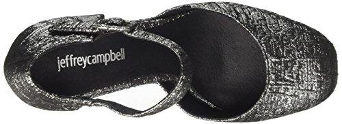 Jeffrey Brocade Heels Multicolor Black Closed Jeneve Women's Silver Campbell Toe ytrcKqt7Yw