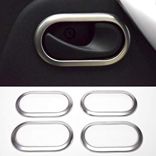 L Interior del coche Tirador de puerta interior para Clio Scenic Trafic Cromado Tirador de puerta