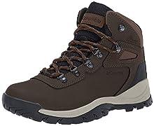 Columbia Women's Newton Ridge Plus Hiking Boot, Cordovan/Crown Jewel, 10 Regular US