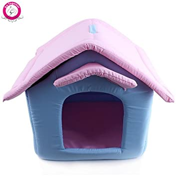 WeMore(TM) Luxury Small Dog Cat House Outdoor Portable Foam Padded Pet Nest Beds