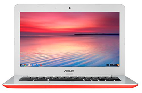 ASUS C300 ChromeBook 13.3 Inch (Intel Celeron, 2 GB, 16GB SSD, Red)