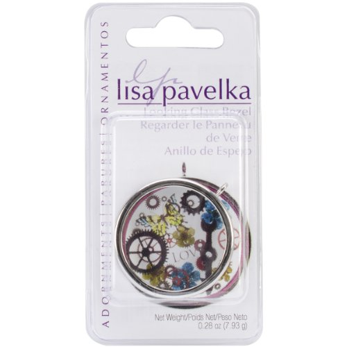 Great Create Lisa Pavelka Looking Glass and Silver Plated Bezel (LP327459) ()
