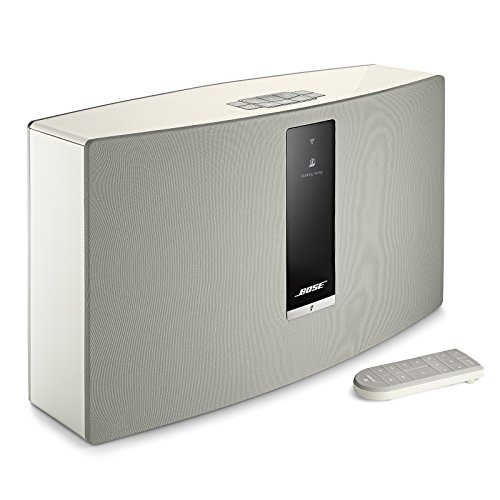 Bose SoundTouch 30 wireless speaker, works with Alexa, White (738102-1200)