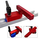 Mitre Track Stop T-nut T Tracks Woodworking DIY Manual Tool Tools Miter Protective Durable T-Slot T-Tracks in Use Quick Handle Kit for 30mm T-Track Hand