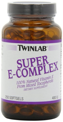 Twinlab Super E-Complex 400 IU, 250 Softgels by Twinlab
