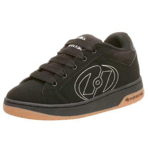 Heelys Little Kid/Big Kid Atomic Skate Shoes,Black,6 M US Big Kid