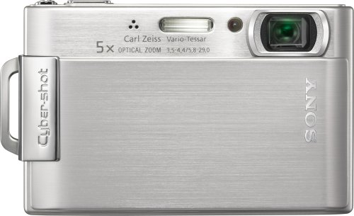 (Sony Cybershot DSC-T200 8.1MP Digital Camera with 5x Optical Zoom with Super Steady Shot Image Stabilization (Silver))