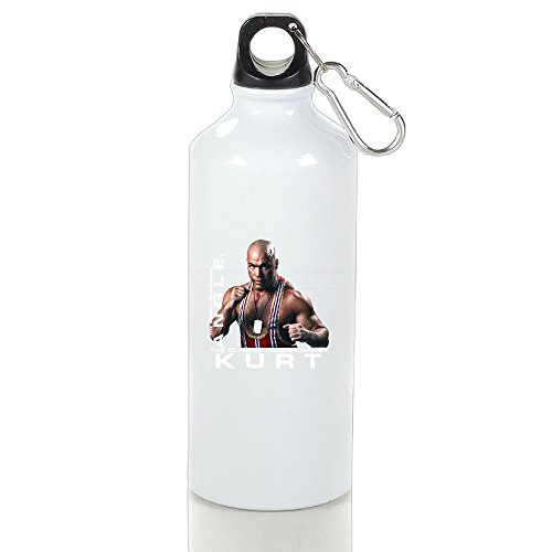 BFWL Aluminum Sports Water Bottle Kettle Cup Great For Outdoor And Sport Activities Portable Sports Kettle Cups Kurt Angle 400ml.