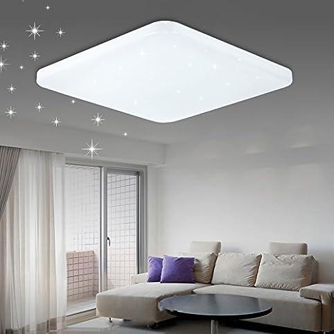 Vgo® 60W Led Starlight Effekt Deckenleuchte Eckig Deckenlampe