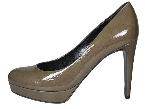 Khaki Women's und Schuhmanufaktur Kennel Plateau Schmenger Green q4Yw7