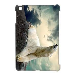 The polar bear CHA9101647 3D Art Print Design Phone Back Case Customized Hard Shell Protection Ipad Mini