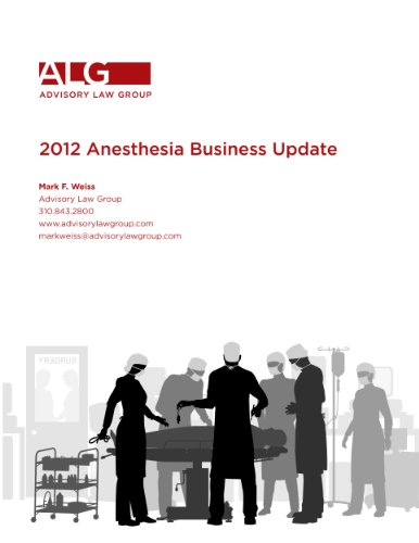2012 Anesthesia Business Update