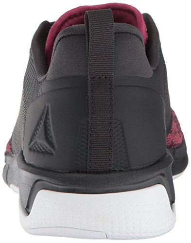 Medios Zapatos Reebok Bajos Cordon Shoe 0 Mujeres amp; coal Twisted white Para Print Talla 3 Run Berry Correr rwx8qrv