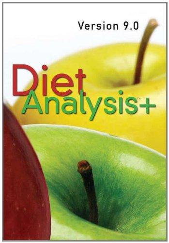 Diet Analysis Plus 9.0 Windows/Macintosh CD-ROM
