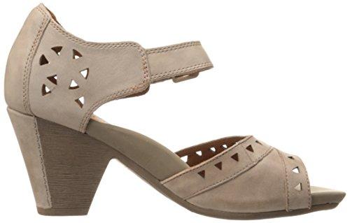 Cobb Hill Rockport Womens Trista-CH Heeled Sandal Taupe I0BEuT
