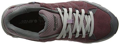 Hi-Tec Libero Ii Waterproof, Zapatos de Low Rise Senderismo para Mujer Morado (Plum/Elderberry/Lt Grey 090)