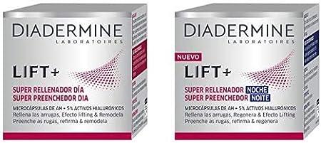 Diadermine - Pack Crema Super Rellenador Día, 50ml + Crema Super Rellenador Noche, 50ml