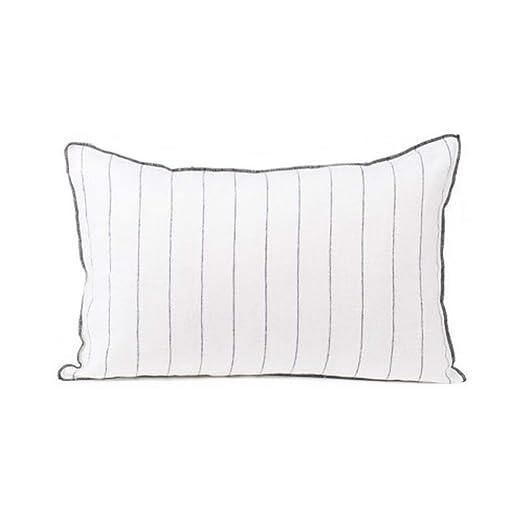 Cojín (relleno Calvi blanco 40 x 60 cm: Amazon.es: Hogar