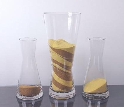 Amazon Medium Cylinder Bud Vase With Carrier C Home Kitchen