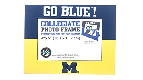 MICHIGAN WOLVERINES NCAA PVC PHOTO FRAME