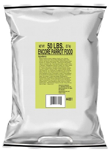 F.M. Brown's Encore Premium Parrot Bird Food, 50-Pound by F.M. Brown's