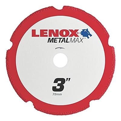 "Lenox Tools 1972918 METALMAX Diamond Edge Cutoff Wheel, 3"" x 3/8"" from Lenox"