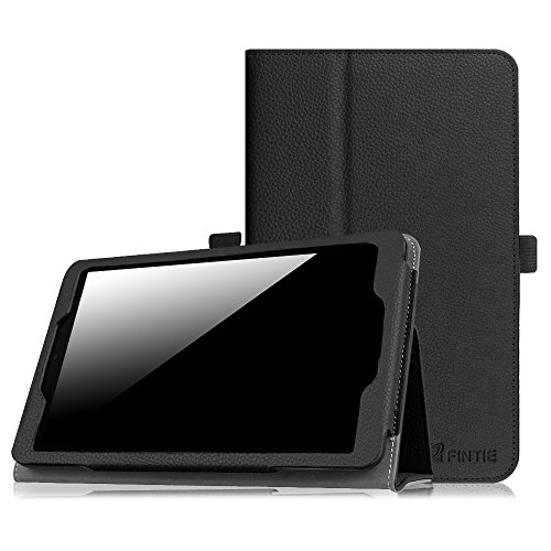 Sprint Slate 8 Plus/Sprint Slate 8 Tablet Case - Fintie Premium PU Leather Folio Standing Cover for 2017 Sprint Slate 8 Plus (AQT82) / 2015 Slate 8 (AQT80) 8 Inch 4G LTE Tablet, Black