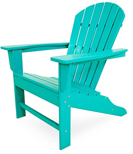 Aruba Recycled Plastic Materials (Polywood South Beach 4-Piece Adirondack Set (Aruba))