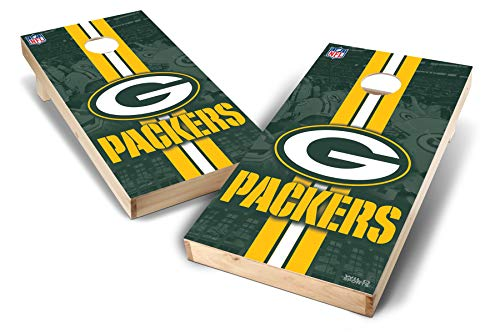 (PROLINE NFL Green Bay Packers 2'x4' Cornhole Board Set - Wild Design)