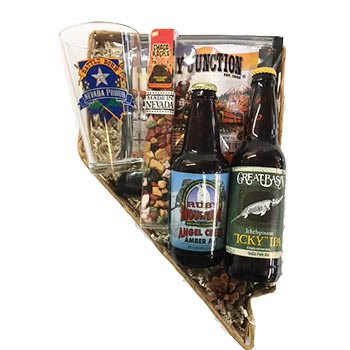 Nevada Shaped Nevada Proud Beer Basket