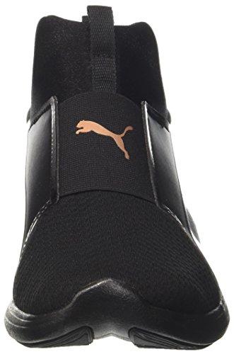 Sneakers Black Puma Basses Rebel Femme Ep puma puma Black Noir Mid Wns XPIwPr