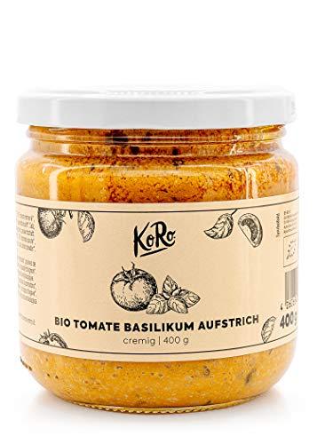 KoRo – Biologische tomaat-basilicum spread – 400 g