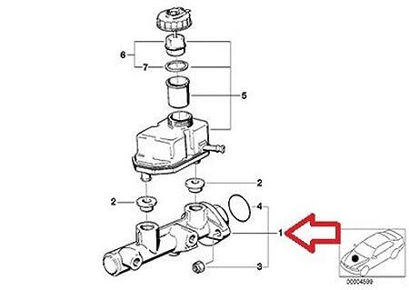 amazon bmw oem original brake master cylinder e38 e39 e53 34 31 Blue BMW E60 amazon bmw oem original brake master cylinder e38 e39 e53 34 31 1 165 544 740i 740il 740ilp 750il 750ilp 525i 528i 530i 540i m5 x5 3 0i x5 4 4i