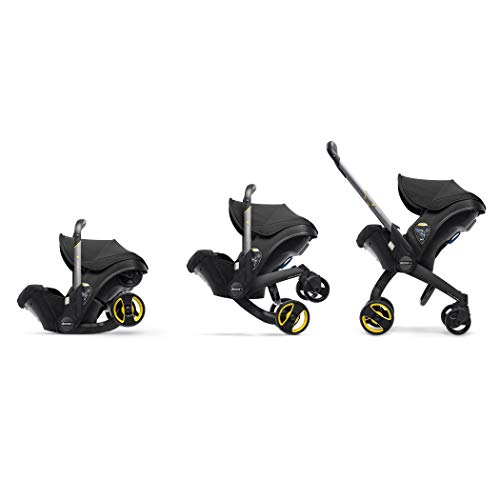 Doona Infant Car Seat & Latch Base - Nitro Black - US Version