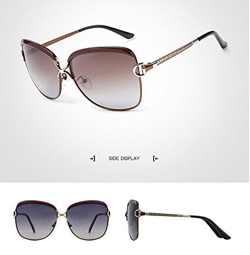 las Ruanyi libre de manera de aire gafas de de Gafas verano al la del de para vendimia de de sol mujeres sol sol adultos Gafas sol lujo la Brown mujeres para de gafas las r4BrqwUFy