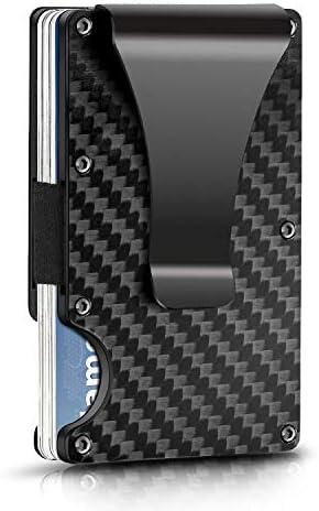 Carbon Fiber Wallet Money Clip product image