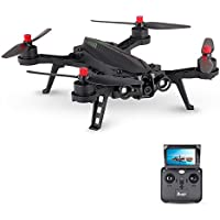 MJX Bugs 6 B6 Foldable Drone High Speed Motor Brushless RC Racing Drone Pre-assembled RTF Quadcopter (with camera and monitor)