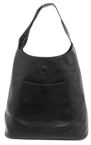 Joy Susan Molly Slouchy Hobo Handbag (One Size, Black)