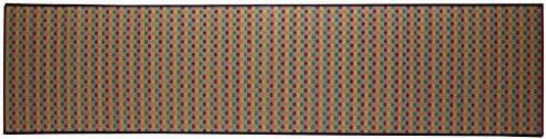 キッチンマット 240 い草 い草マット 国産 ドット柄 『Fドロップ』 マルチ 約80×240cm (裏面:滑りにくい加工)