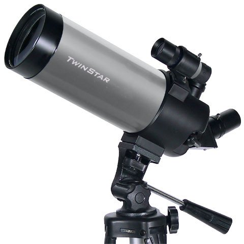 Silver TwinStar 90mm Cassegrain Telescope for sale  Delivered anywhere in USA