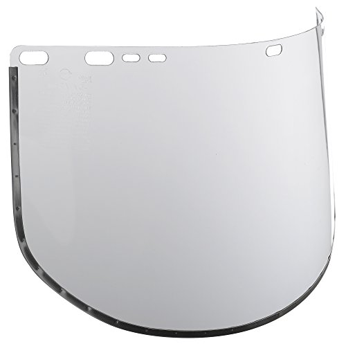 """Jackson Safety F30 Acetate Face Shield (29079), 9"""" x 15.5"""" Clear, Reusable Face Protection, 24 Shields / Case by Jackson Safety"""