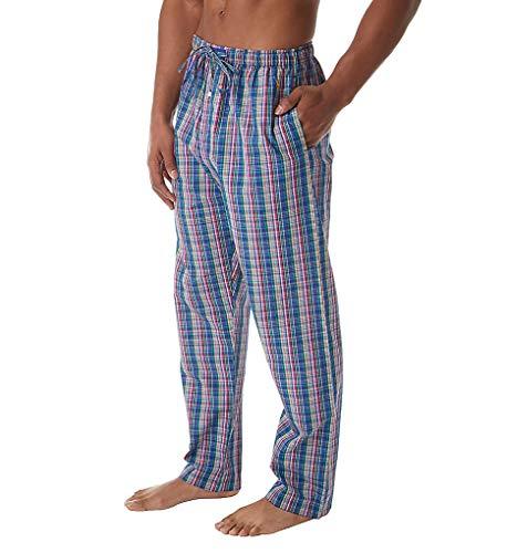 - Polo Ralph Lauren 100% Cotton Fashion Woven Pajama Pant (P501SR) S/Barton Plaid/Yellow