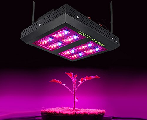 Unit Farm UFO-80 LED Grow Light Full Spectrum 170W for Indoor Plants Veg and Flower