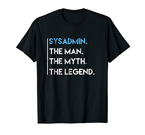 Funny Unix Sysadmin & Linux Shell Shirt (Best Shell For Linux)
