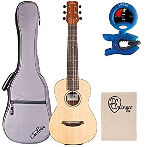 cordoba mini m miniature acoustic nylon string guitar with gig bag tuner and. Black Bedroom Furniture Sets. Home Design Ideas