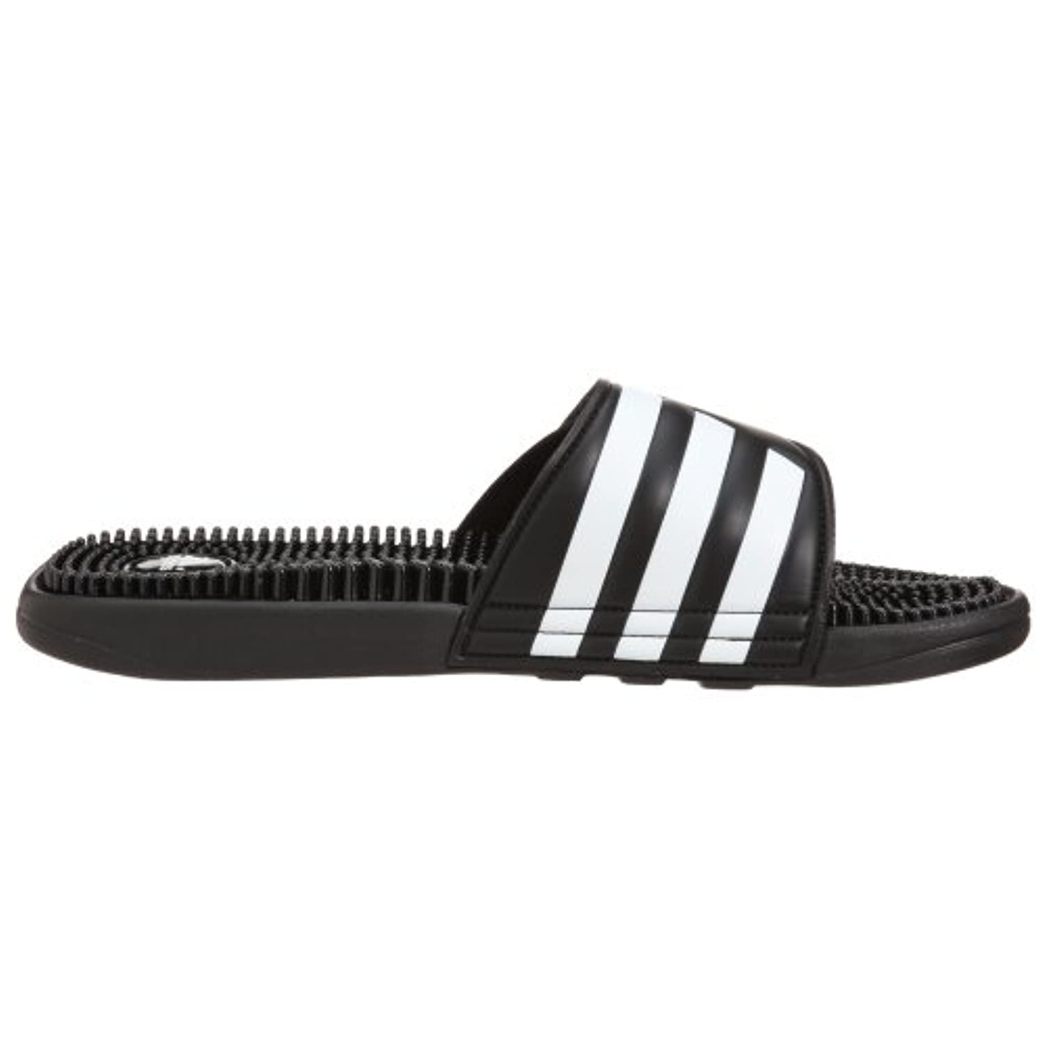 adidas Adissage, Unisex Adults' Beach & Pool Shoes, Black (black/black/running White Ftw), 7 UK