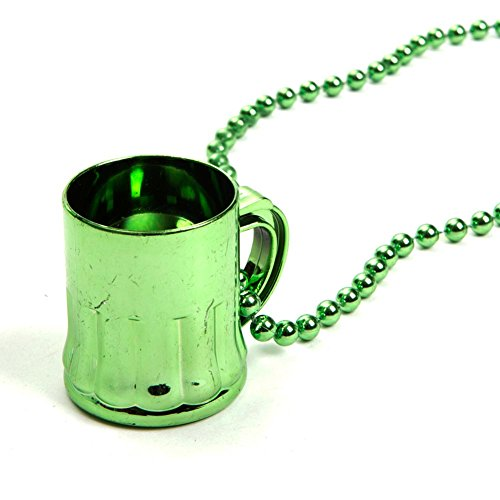 Lot Of 12 Metallic Green St Patricks Day